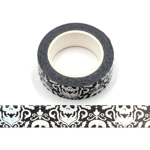 Halloween Holographic Skull Designs Washi Tape