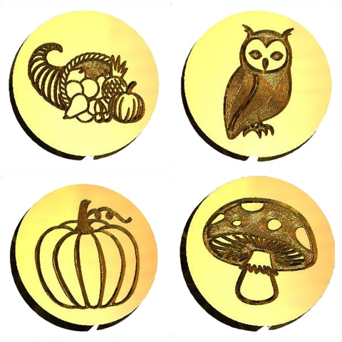 Autumn | Fall Design Wax Seal Stamps - 32 Designs