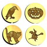 ☀️ Halloween Design Wax Seal Stamps - 36 Designs