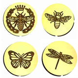 Insect Design Wax Seal Stamps - 13+ Design Choices