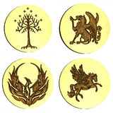 Wizards & Fantasy Wax Seal Stamps - 37 Design Choices