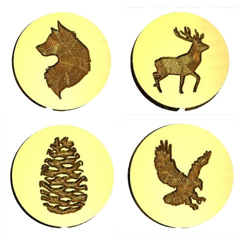 Outdoor & Wildlife Design Wax Seal Stamps - 54 Designs