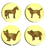 ☀️ Pet Design Wax Seal Stamps - 55 Designs