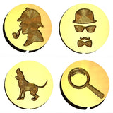 Sherlock Holmes | Mystery Design Wax Seal Stamps - 16 Design Choices