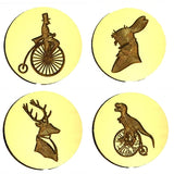 SteamPunk Design Wax Seal Stamps - 22 Design Choices