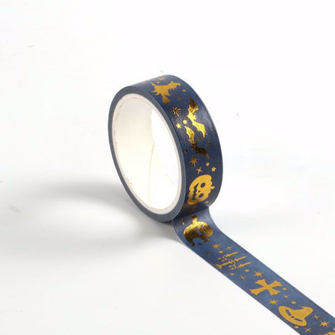 Halloween Foil Designs Washi Tape LetterSeals.com