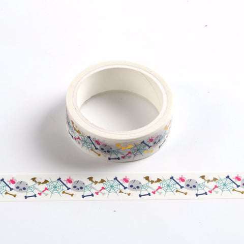 Halloween Skull & Bones Washi Tape