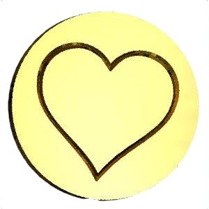 heart wax seal stamp letterseals.com