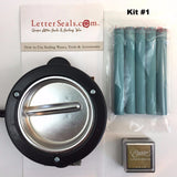 Melting Pot & Melting Spoon & Wax Sets-LetterSeals.com