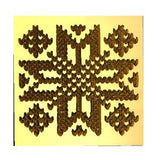 Nordic Knit Pattern #2 Wax Seal Stamp