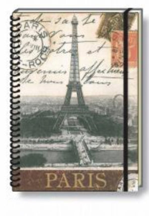 Paris Spiral Wire Bound Notebook - Rossi 1931