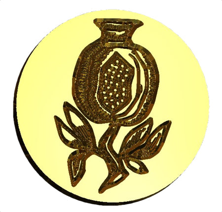 Pomegranate Wax Seal Stamp