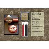 "Classic 3/4"" Wax Seal Stamp Gift Set<br> Choose Your Favorite Design or Initial - LetterSeals.com - 12"