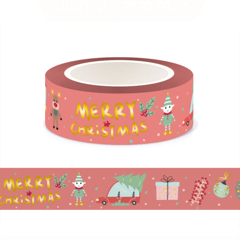 Retro Christmas Washi Tape