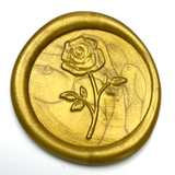 Rose wax seal stamp letterseals.com