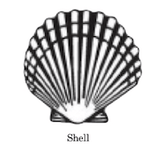 shell clam scallop wax seal stamp letterseals.com