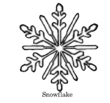 Snowflake wax seal stamp, sealing wax stamp, letterseals.com