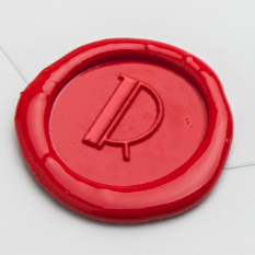 Park Lane Initial Wax Seal Stamp LetterSeals.com