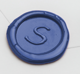 Papyrus initial wax seal stamp letterseals.com
