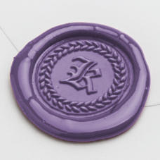 old english initial wax seal stamp styles letterseals.com sealing wax colors