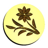 Spring Flower wax seal stamp letterseals.com