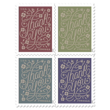 Thank You Forever 55¢ Postage Stamp