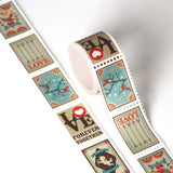 Heart Love Valentine Postage Themed Washi Tape