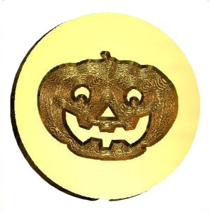 Jack-o-Lantern Wax Seal Stamp LetterSeals.com