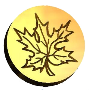 maple leaf 2 wax seal stamp