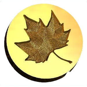 maple leaf wax seal stamp letterseals.com