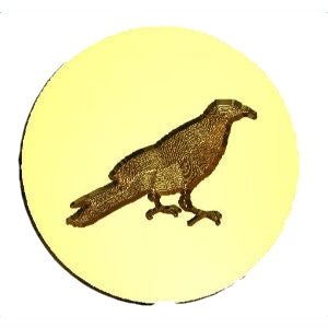raven #1 wax seal stamp letterseals.com