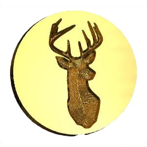Stag Bust Wax Seal Stamp