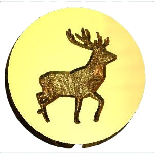 Stag Standing Wax Seal Stamp Letterseals.com