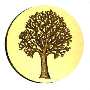 Bare Tree Design Wax Seal Stamp letterseals.com