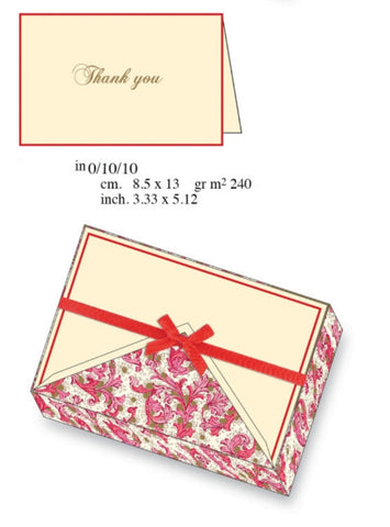 Thank You Cards | 8 Patterns | Rossi 1931 Classica Italiana