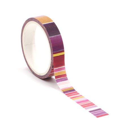 Warm Colors Washi Tape
