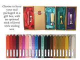 wax seal stamp gift box letterseals.com