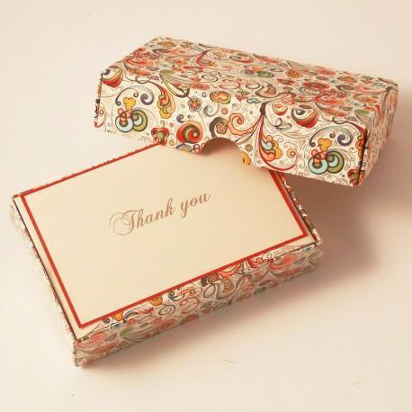 Thank You Cards | 8 Pattern Choices | Rossi 1931