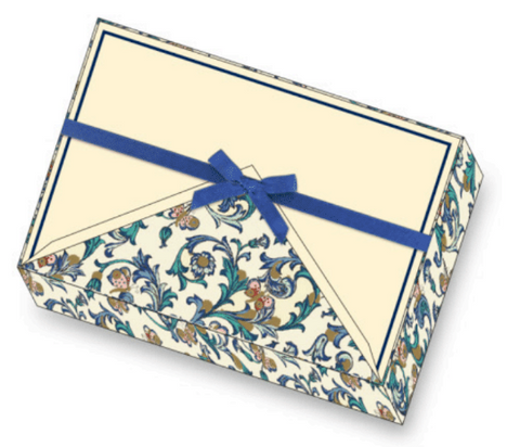 Butterfly Florentine Note Cards | Rossi 1931 Italian Stationery