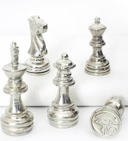 Wax Stamp Designs With Chess Piece Handle