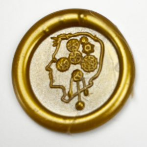 SteamPunk Design Wax Seal Stamps-LetterSeals.com