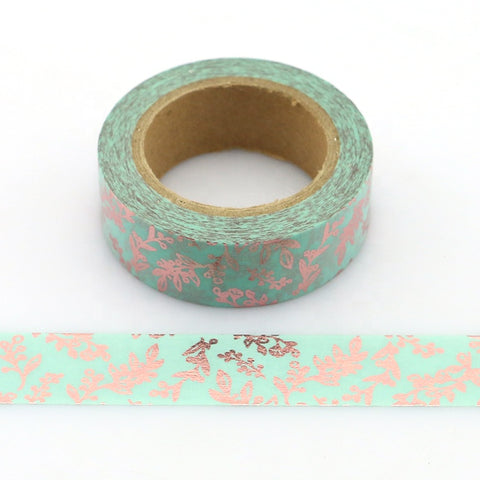 Gold Foil Sprigs Washi Tape