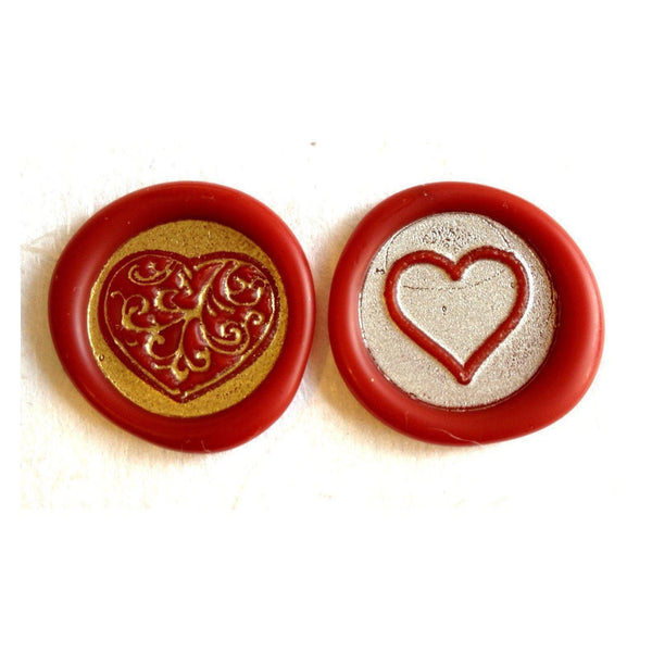 Hearts Amp Love Wax Seal Stamps Letterseals Com