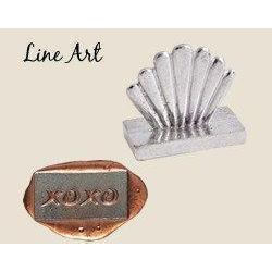 Linear Art Designs<br>Wax Seal Stamps-LetterSeals.com