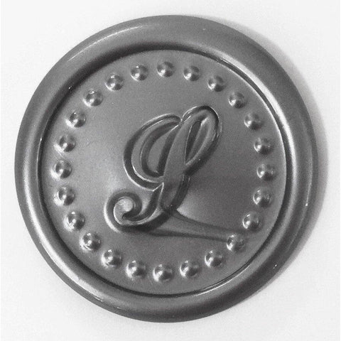 Script Initial Wax Seal Stamp - Select Size, Handle & Trim