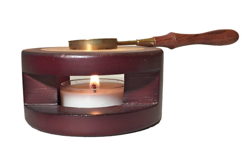 OUT OF STOCK - Sealing Wax Melter + Melting Spoon | Sealing Wax Furnace
