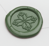 Nordic Knit Pattern #3 Wax Seal Stamp