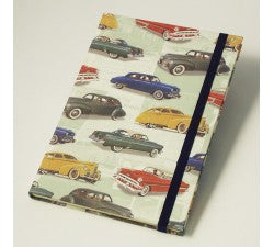 Vintage Cars | Rossi 1931 Hardcover Notebook - Letterpress Paper Cover