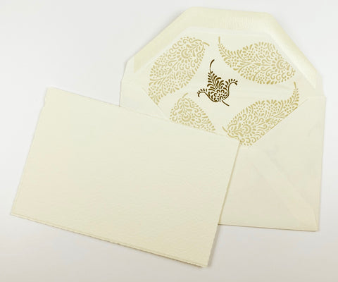 Palm Leaf Note Cards | Rossi 1931 Italian Stationery