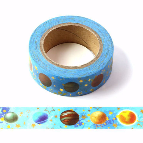 Planets Washi Tape